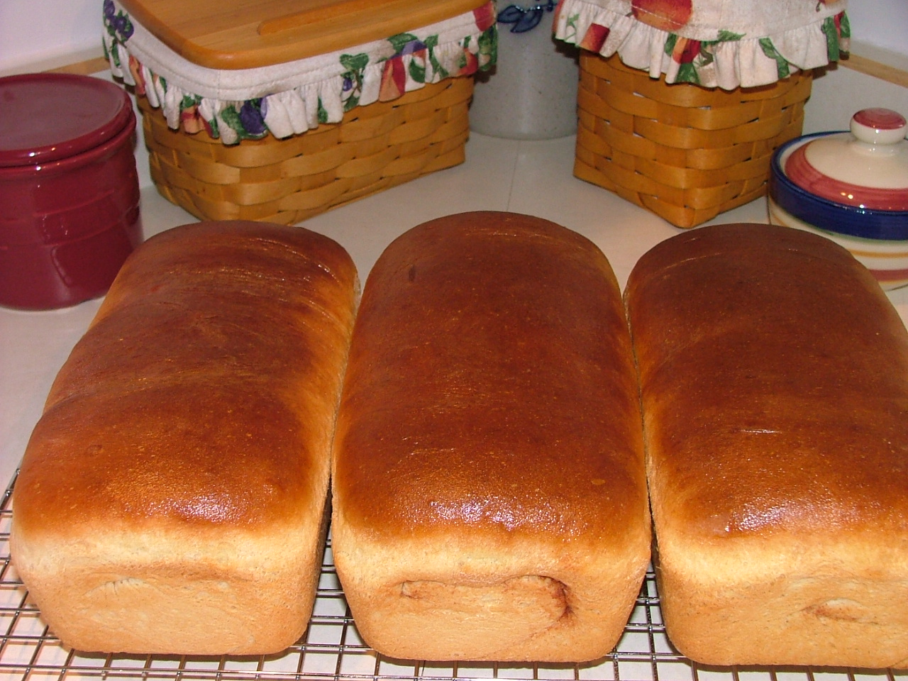 Susan's Country Cupboard::Homemade Bread